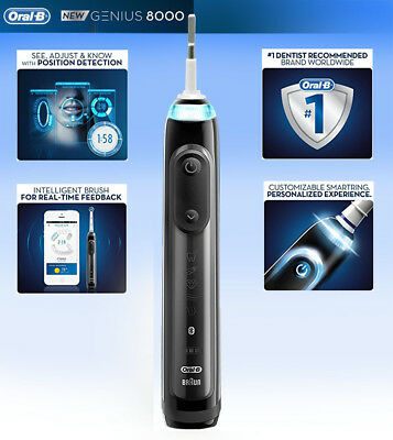 Oral-B Genius Pro 8000 Electronic Power Rechargeable Electric Toothbrush handle