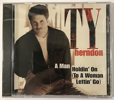 TY HERNDON - Man Holdin On / Just Enough To Get To Memphis - CD - Single - *NEW*