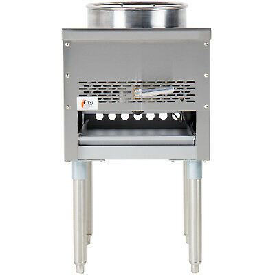 Natural Gas Wok Range Commercial Professional Restaurant Stir Fry Chinese Asian