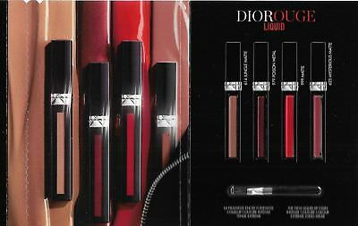 DIOR / Rouge Liquid / 4 Shade Sampler w/Applicator