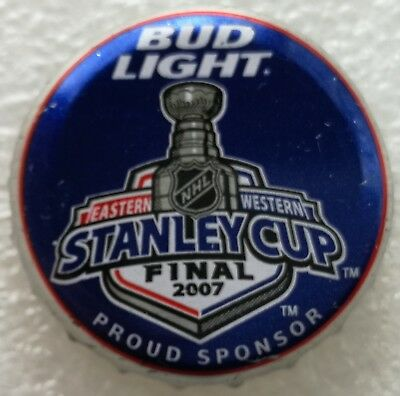 BUD LIGHT NHL Team Logo Beer Bottle Cap U-pick From List