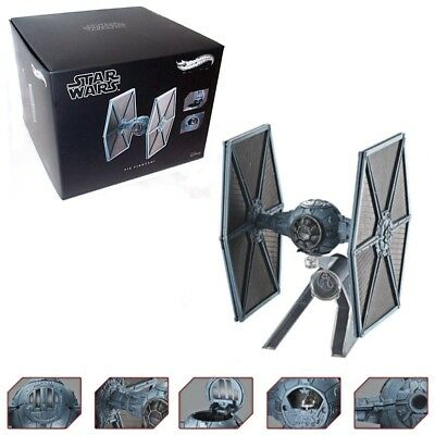 TIE FIGHTER Star Wars ESB  Elite Die-Cast Metal Vehicle by HOT WHEELS NIB 2018
