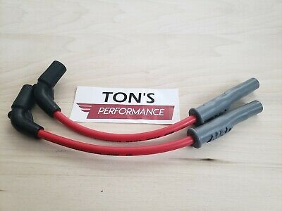 MSD Red Harley Davidson 48 72 883 1200 Sportster Coil Relocation wires 07+