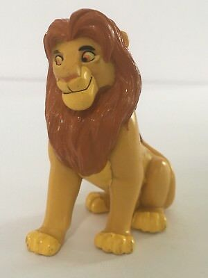 Disney The Lion King Simba PVC Figure Applause Figurine Toy Vintage Cake Topper