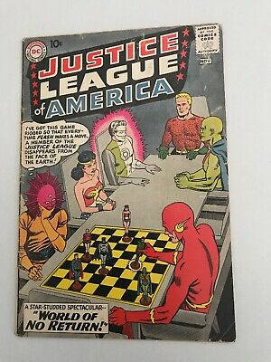 Dc Comics. Justice League Of America # 1.  1960.