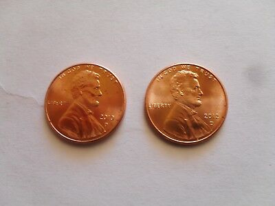 2010 - 2012 D  Lincoln Shield Cent BU Penny US Coins Uncirculated