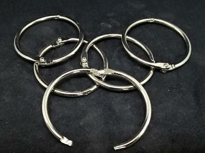 Quality joint rings + split/key rings/holders sprung steel, brass or stainless