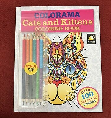 Coloring Book Colorama Cats And Kittens For Adults Kids