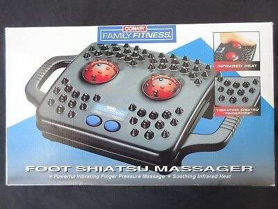 Conair Family Fitness Model SH27 Electric Foot Massager Infrared Heat, Vibration