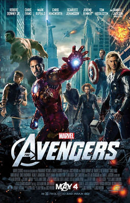 "The Avengers ( 11"" x 17"" ) Movie Collector's Poster Print  - B2G1F"