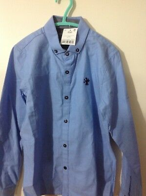 Boys blue next formal shirt 8years BNWT