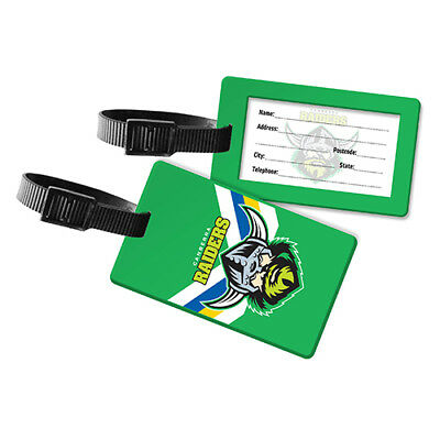 Canberra Raiders NRL Luggage Tag for Travel Suit Case Bag Gift