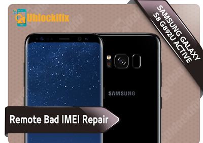 Samsung Galaxy S8 Active G892U Tmobile Imei Fix Remote Usb Free Unlock