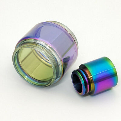 SMOK² TFV12 Prince 8ml Extended Replacement Bulb Glass / Rainbow Drip Tip