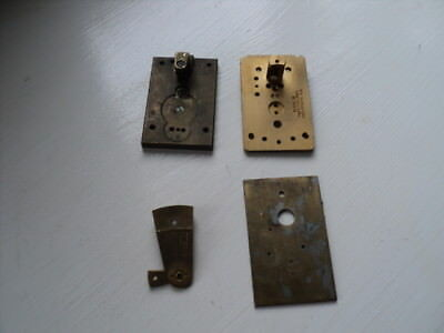 Job Lot Platform Parts (1 is by CHS,GORGE S.A Swiss Made) For Clock Spares