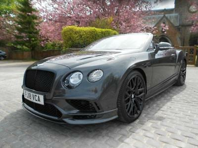 18 (2018) Bentley Continental 6.0 (710ps) Auto Supersports