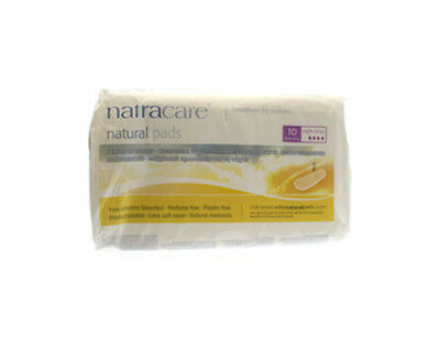 Natural Pads Night Time Extra Long, Natracare, 10 piece