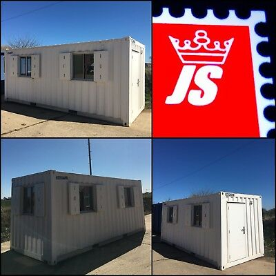 NEW £6666+VAT 20' X 8' Portable Building Site Office Container Cabin
