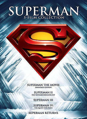 SUPERMAN: 5 Film Collection (DVD, 2013)  Brand New SEALED