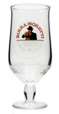 Personalised Engraved Birra Moretti Pint Chalice Beer Glass Any Message/occasion