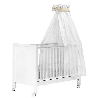 Cambrass Cot Canopy Voile, 160x 270cm, Beige