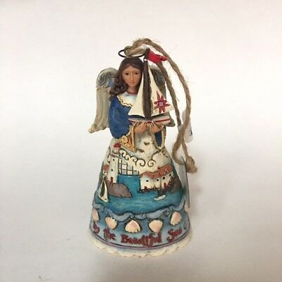 Jim Shore Heartwood Creek By the Sea Angel Lighthouse Figurine Ornament 2012