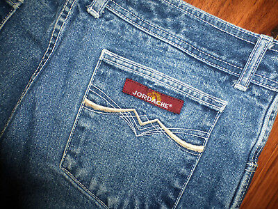"Vintage 80's Jordache Jeans Size 36 But Fit Like 32 X 31"" Mens But Can Be Unisex"