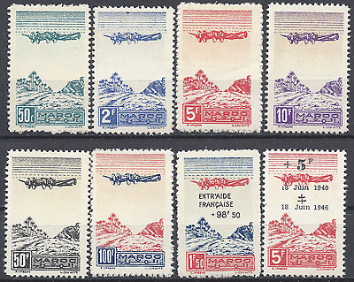 France Colony Morocco Morocco Pa N°50/55 56 58 Neuf Luxe Mnh