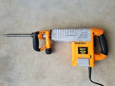 Chicago Electric Industrial Demolition Jack Hammer 93853 Lighty Used NICE