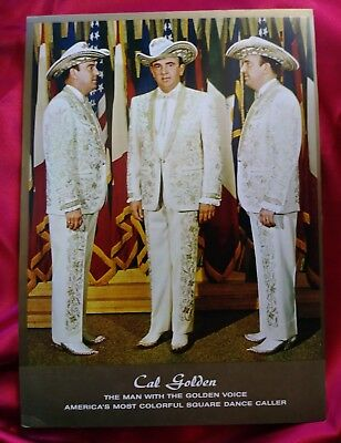 Promotional Color Print of Cal Golden Nudie Suit Square Dance Caller Nudie's
