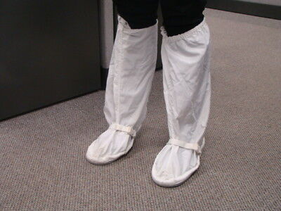 Vidaro Cleanroom Boots, Medium, Reusable