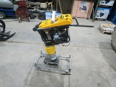 6.5 HP Jumping Jack Rammer Tamper plate compactor tamping ram Impact NEW