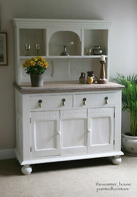 Stunning Vintage French Farmhouse Shabby Chic Dresser Painted in Farrow & Ball