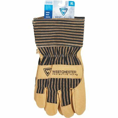 West Chester Cold Weather Pigskin Soft Leather Work Gloves Large