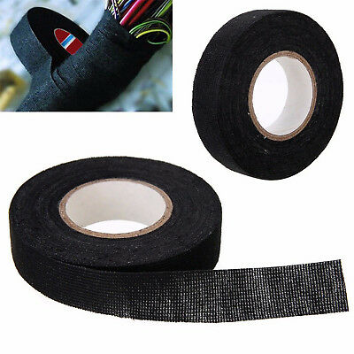 19MM x 15M Cloth Fabric Tape Adhesive Cable Protection Looms Wiring Harness Best