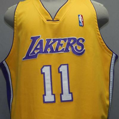 bb07505caf8 Rare Authentic Nike Pro Cut Los Angeles Lakers Karl Malone 11 NBA Jersey 56  3XL