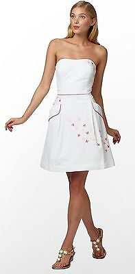 6c664caec1694f $228 Lilly Pulitzer Blossom Spring Fling Floral Embroidery Seersucker Dress