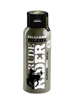 100ml RudeRider Rude Rider Silicone Glide Lube Anal Lubrifiant Anale Lubricant