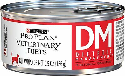 Purina Veterinary Diets Cat Food DM Canned [Dietetic] (24 count)