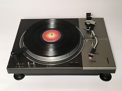 Technics SL-1100 Turntable w/Dust Cover-Orig Manual/Strobe/Arm/Cart/45-adap GEM!