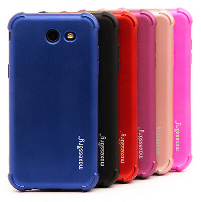 For Samsung Galaxy J3 Prime Case Ultra-Thin Protector Full Body Gel Guard Cover