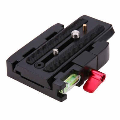 NEW Quick Release Plate P200Clamp Adapter for Manfrotto 577 501 500AH 701HDV 50