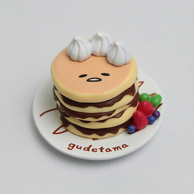 Sanrio ぐでたま Gudetama Funny Show Choco Sweets Collection Pancake Figure