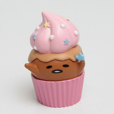 Sanrio ぐでたま Gudetama Funny Show Choco Sweets Collection Cupcake Figure