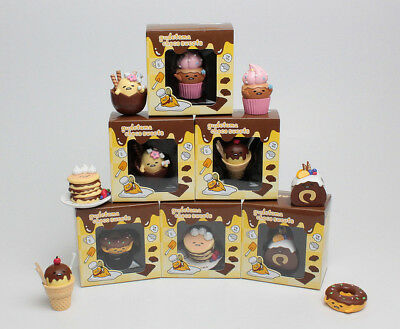 Sanrio ぐでたま Gudetama Funny Show Choco Sweets Collection Completed Set 6pcs
