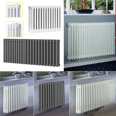 Traditional 2 & 3 Columns Cast Iron Style Radiator UK Central Heating Metal Rads