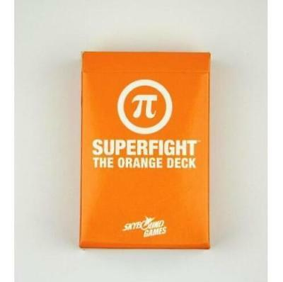 SUPERFIGHT: ORANGE Expansion Game-Factory Sealed Deck Card