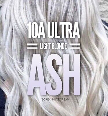 New! Guy Tang #Mydentity Demi-Permanent Hair Color ULTRA LIGHT BLONDE ASH ~ 10A