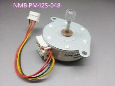 1pcs 42mm NMB PM42S-048 Step Stepper Stepping Motor 4-Phase 5-Wire 24V with Gear