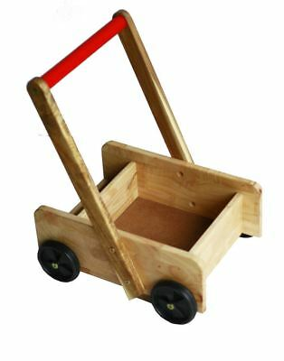 Classic Walker Baby Wooden Toy Play Accessories Pretend Hobby Preschool Learning
